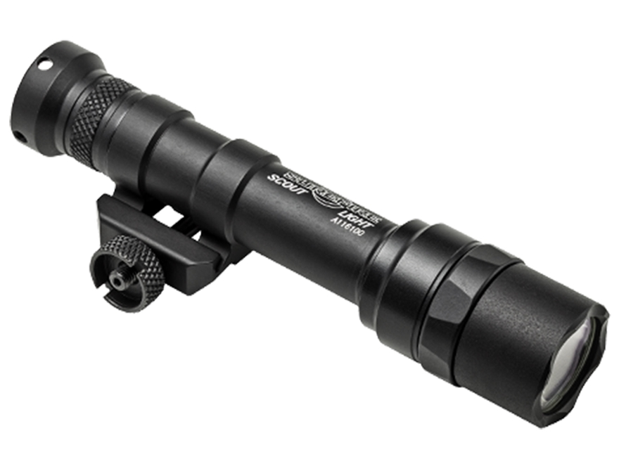 Surefire M600 Ultra Scout Light Weaponlight LED with 2 CR123A Batteries Aluminum Black