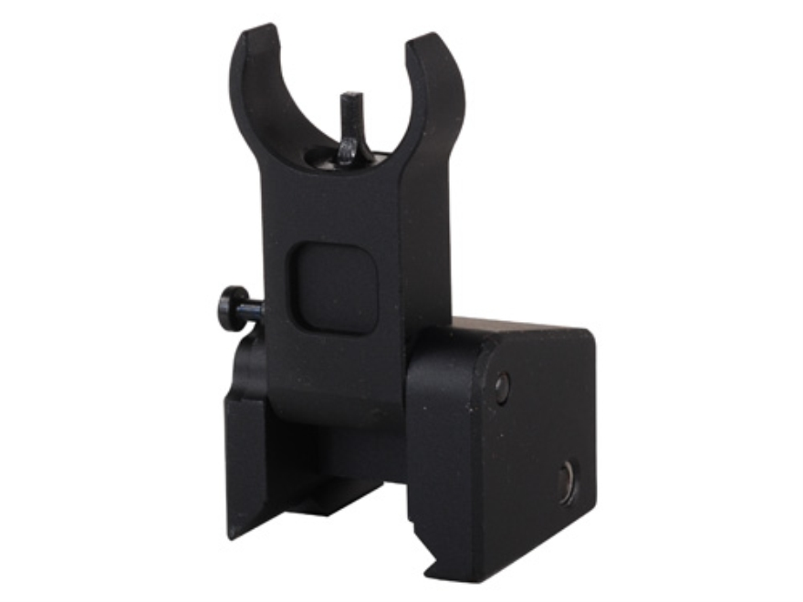 Midwest Industries Flip-Up Low-Profile Front Sight Gas Block Height AR-15, LR-308 Alumi...