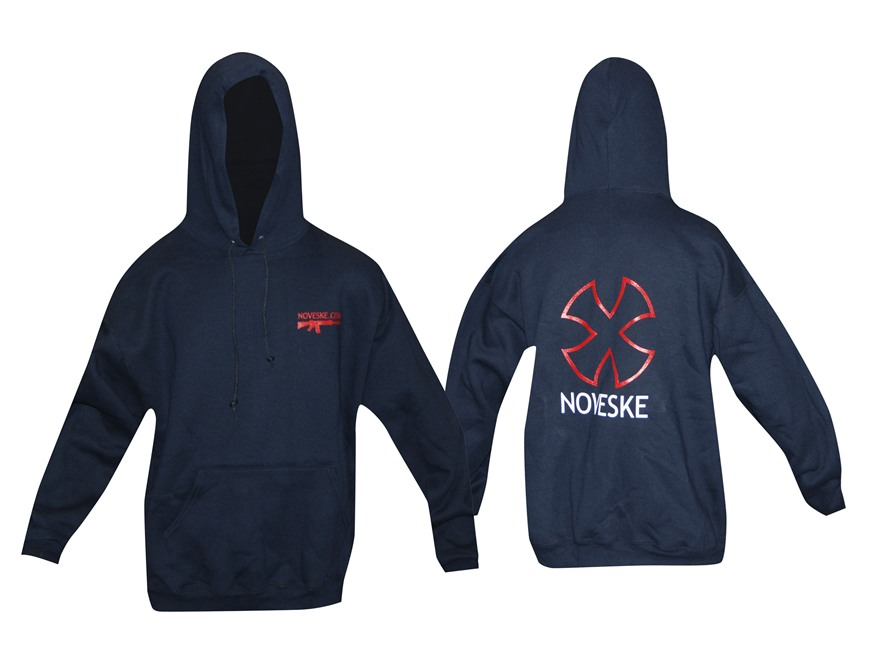 Noveske Hoodie Long Sleeve Cotton/Polyester Black Small