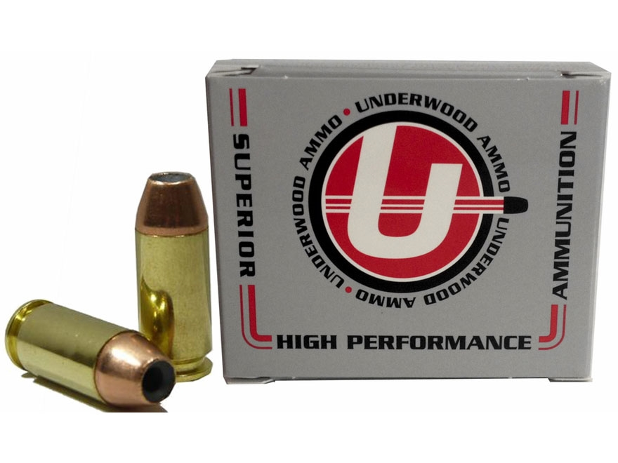 Underwood Ammunition 460 Rowland 230 Grain Jacketed Hollow Point Box of 20
