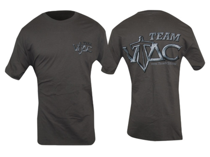 VTAC Team VTAC Short Sleeve T-Shirt XL Cotton Gray