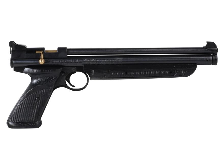 Crosman PC77 Pumpmaster Air Pistol 177 Caliber Pelllet Pump Single Shot Black Zinc Allo...