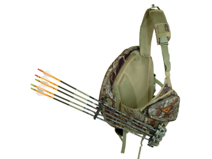 GamePlan Gear Spot-n-Stalk Quiver Backpack Polyester Tri-Cot Realtree AP Camo