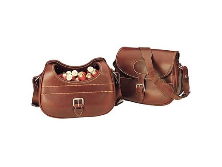 Galco Devon Speed Sporting Clays Range Bag Leather Brown