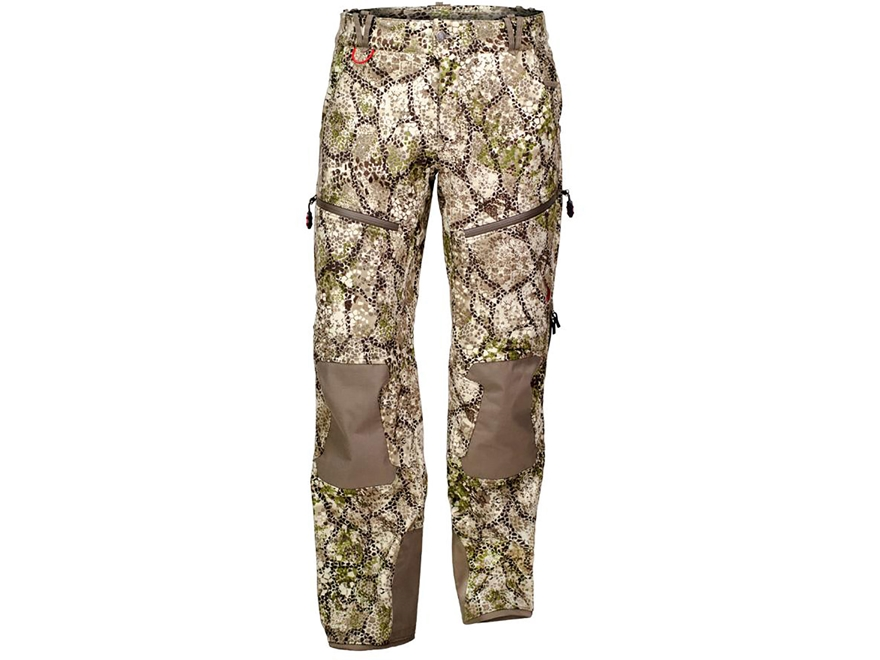 Badlands Men's Hybrid Soft Shell Insulated Pants Polyester Approach Camo