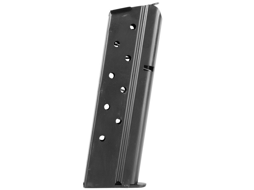 Colt Magazine 1911 Government, Commander 9mm Luger 9-Round Steel Blue