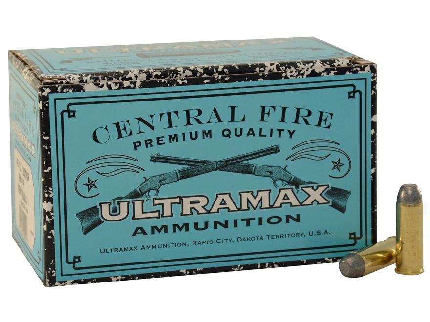 Ultramax Remanufactured Ammunition 45 Colt (Long Colt) 250 Grain Round Nose Flat Point ...