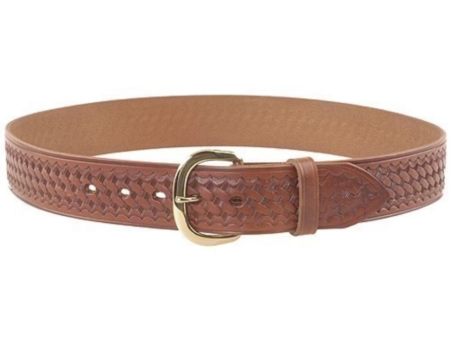 bianchi b8 heavy duty belt 1 3 4 brass buckle basketweave