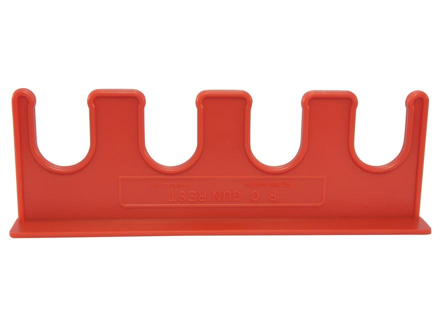 Downrange 4 Gun Magnetic Rack Polymer Red