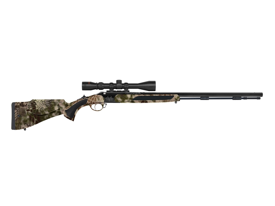"Traditions Vortek StrikerFire Muzzleloading Rifle with 3-9x40mm Scope 50 Caliber 28"" Fl..."