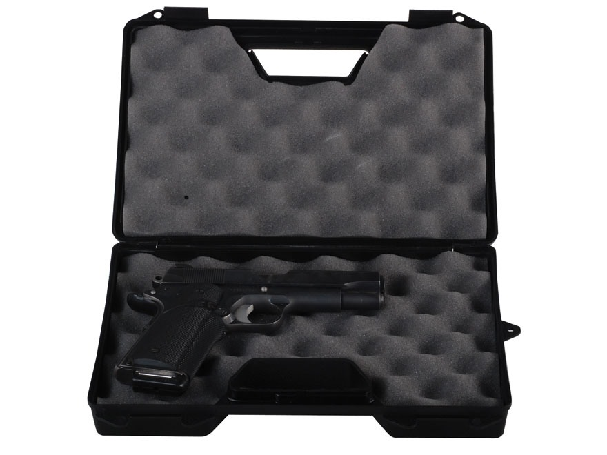 "MTM Pistol Case 12"" Black"