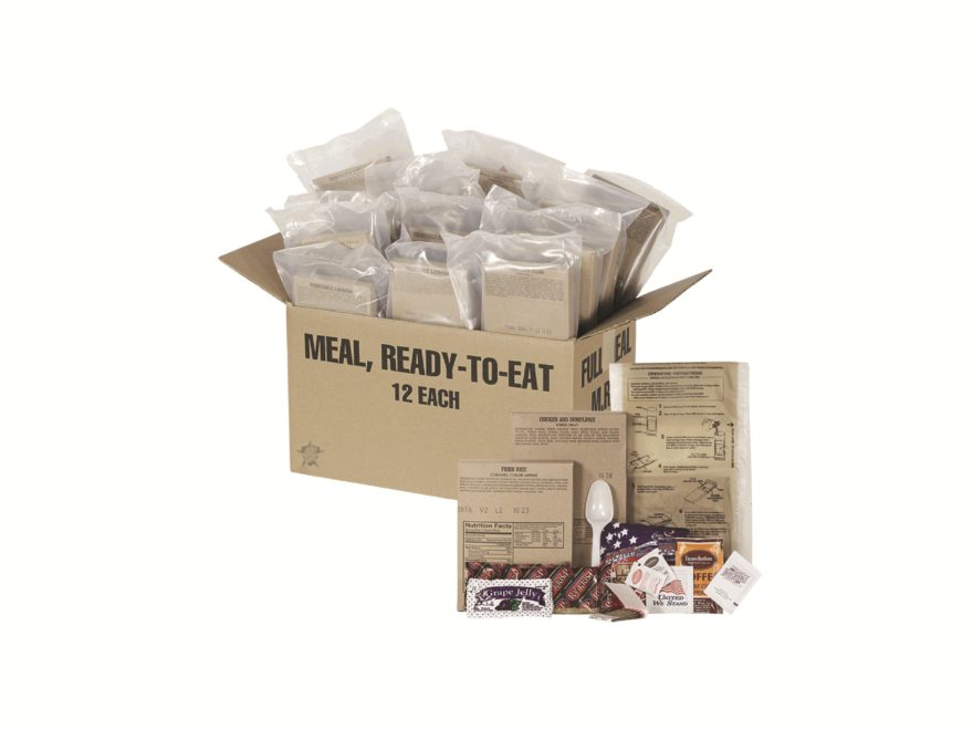 5ive Star Gear MRE (Meal, Ready to Eat) Assorted Menu Case of 12