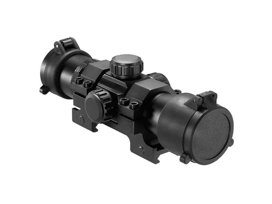 "Barska 7"" Tactical Red Dot Sight 1x 30mm 3 MOA Dot with 1-Piece Low Picatinny Mount Matte"
