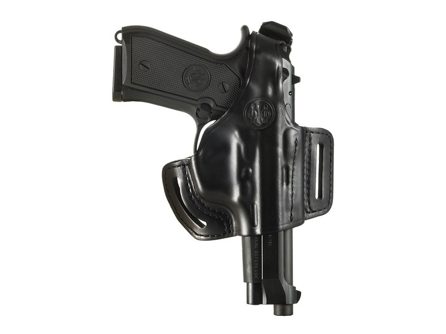 Beretta Mod. 2 Belt Holster Right Hand 92FS, 96 Leather Black