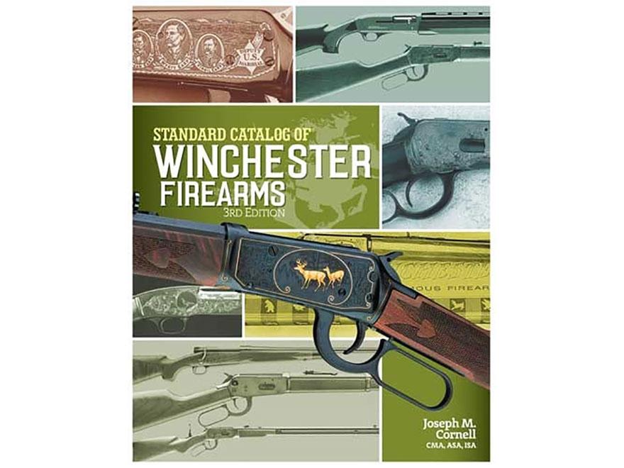 """Standard Catalog of Winchester Firearms Edition 3"" Book by Joseph Cornell"
