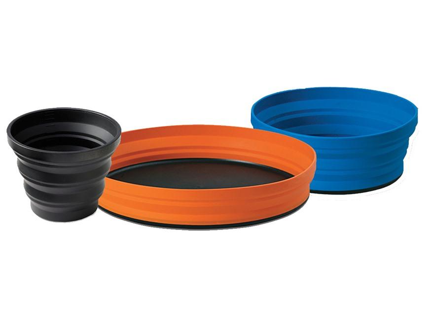 Sea to Summit X SET 3 Piece X Plate, X Bowl, X Mug with X Pouch