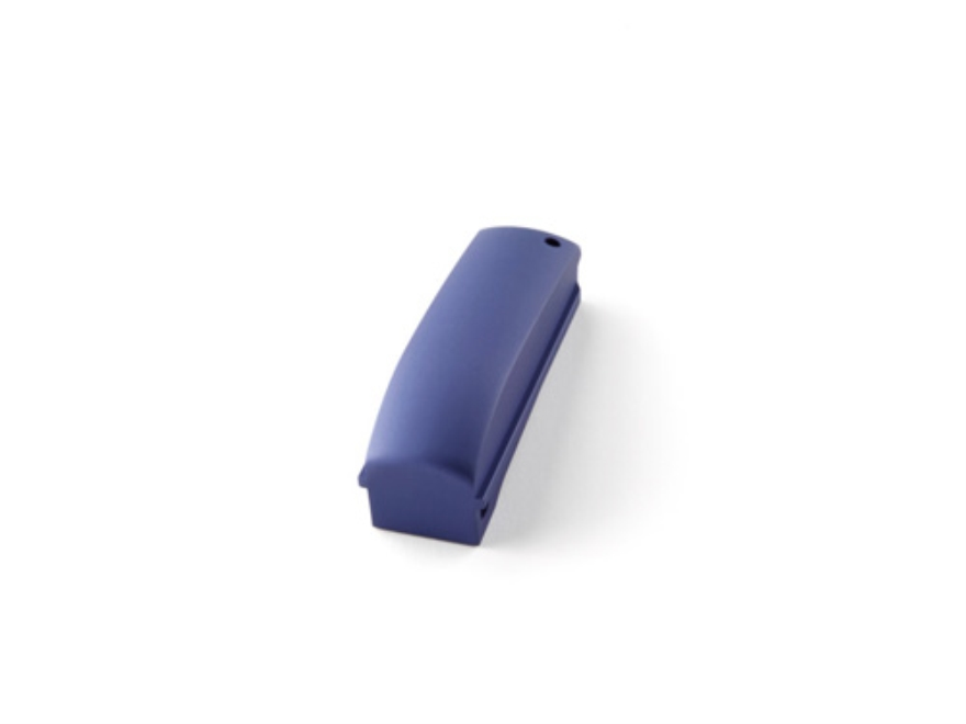 Hogue Mainspring Housing Arched 1911 Officer Smooth Aluminum Matte Blue