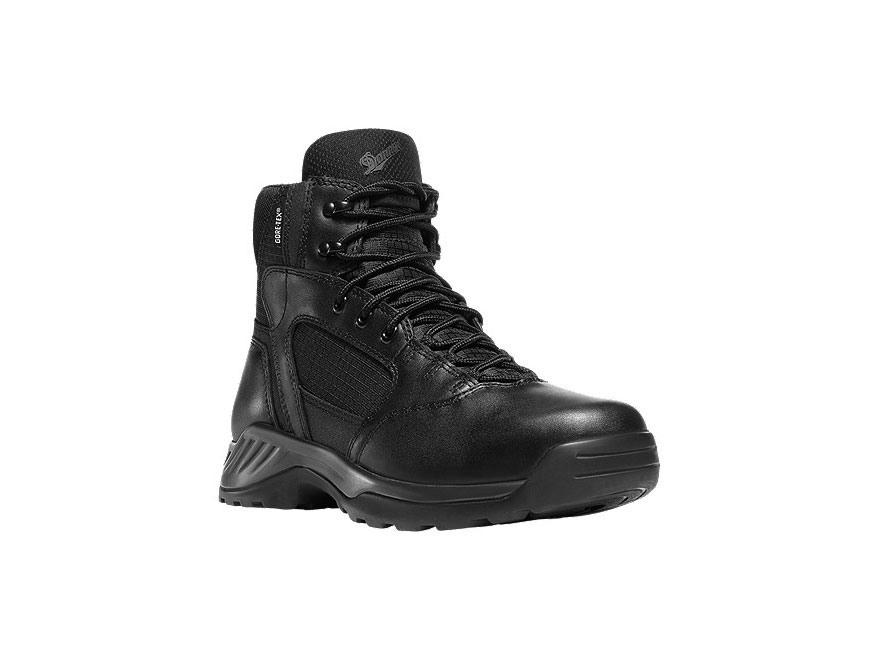 "Danner Kinetic 6"" Uninsulated Boots Leather Black Men's"