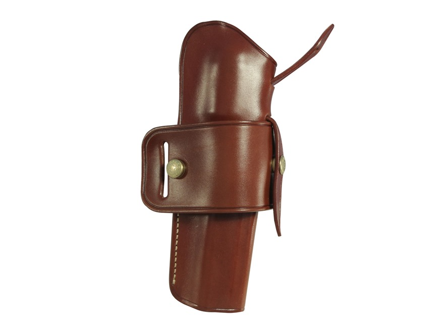 Galco Wheel Gunner Belt Holster Right Hand Colt Single Action Army, Ruger Blackhawk, Su...