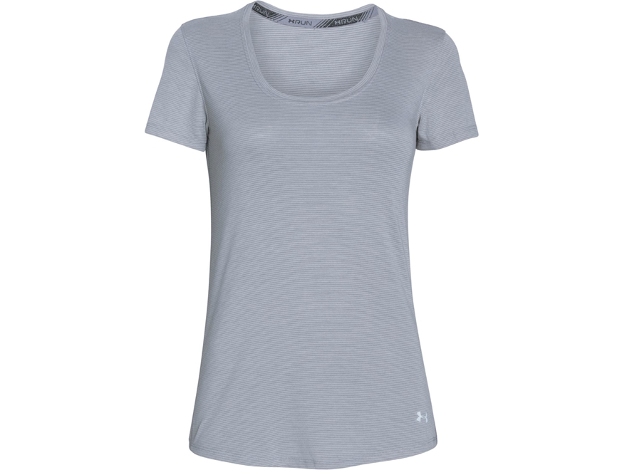 Under Armour Women's UA Charged NLS T-Shirt Short Sleeve Cotton
