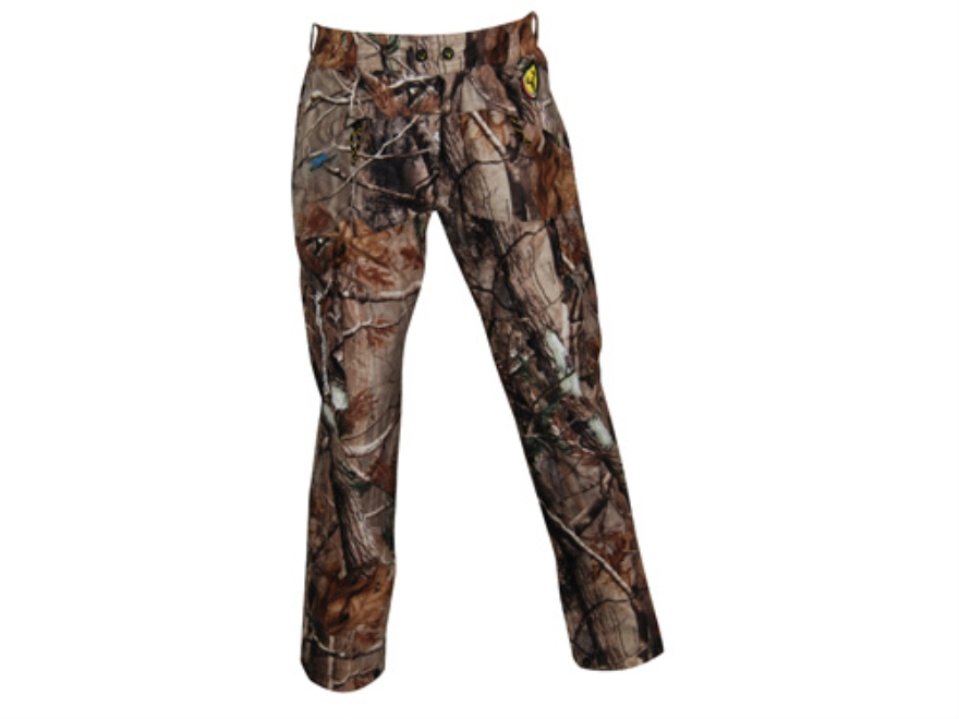 ScentBlocker Men's Triple Threat Waterproof Pants Polyester Realtree AP Camo Medium 32-...