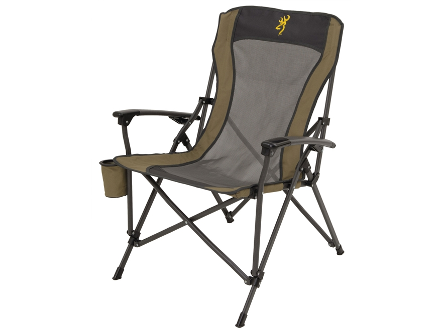 Browning Fireside Folding Camp Chair Steel Tan