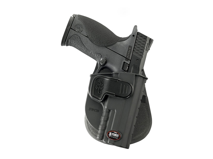 Fobus CH Rapid Release Level 2 Paddle Holster Right Hand Taurus PT 24/7 G1 Polymer Black