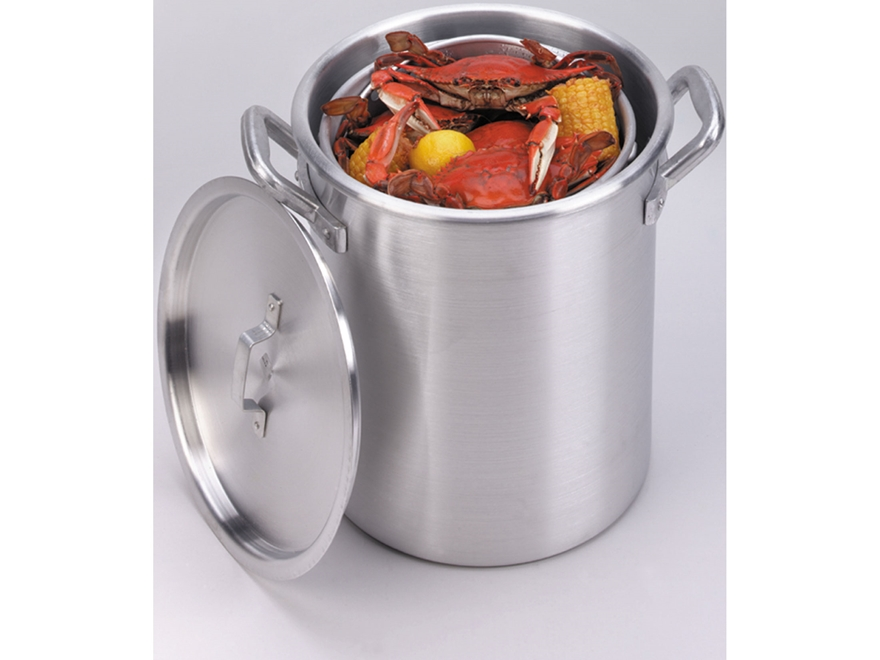 King Kooker 60 Qt Boiling Pot with Lid and Basket