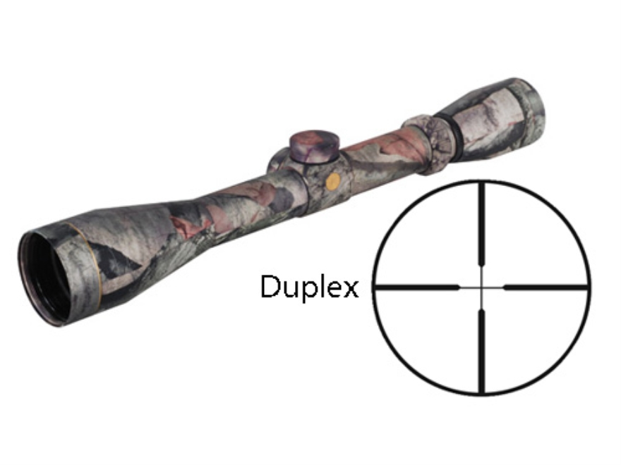 Leupold VX-1 Rifle Scope 3-9x 40mm Duplex Reticle Mossy Oak Treestand