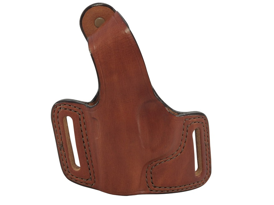 Bianchi 5 Black Widow Outside the Waistband Holster Left Hand Ruger LCP Leather Tan