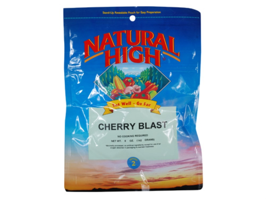 Natural High Cherry Blast Freeze Dried Meal 5 oz