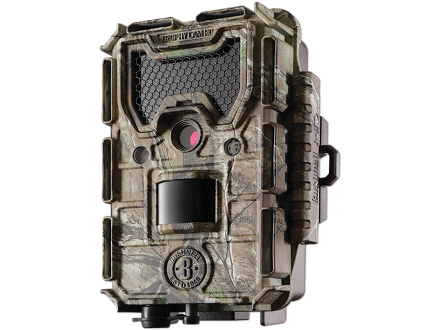 Bushnell Trophy Cam Aggressor HD Black Flash Infrared Game Camera 14 MP Realtree Xtra Camo