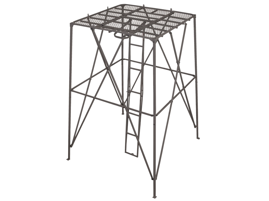 Big Game The Booster Box Blind Stand Steel Black