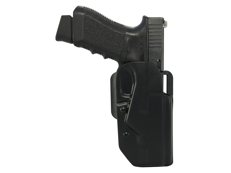 Blade-Tech Black Ice Belt Holster Right Hand 1911 Commander ASR Loop Kydex Black