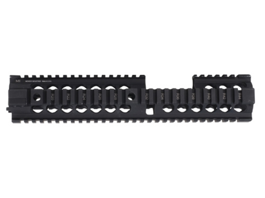 Midwest Industries Gen 2 Free Float 2-Piece Handguard Quad Rail AR-15 Extended Carbine ...
