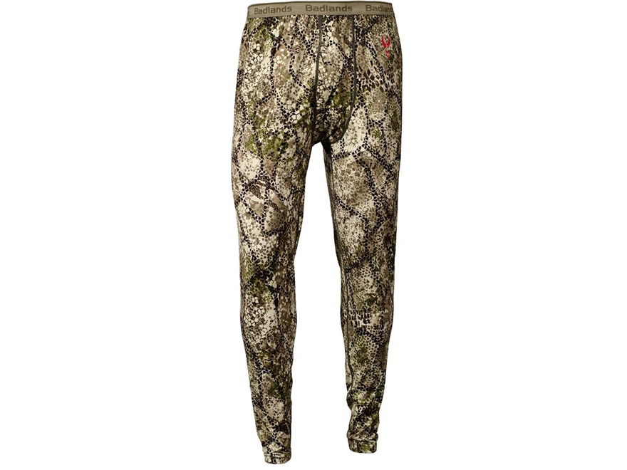 Badlands Men's Calor Base Layer Pants Polyester Approach Camo