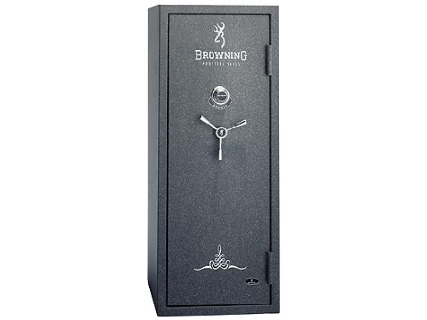 Browning Bronze Series Fire-Resistant Safe 7/14 +5 DPX Textured Charcoal with Gray Inte...