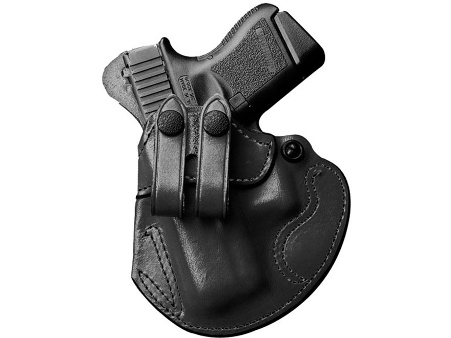 DeSantis Cozy Partner Belt Holster Ruger American 9mm Leather