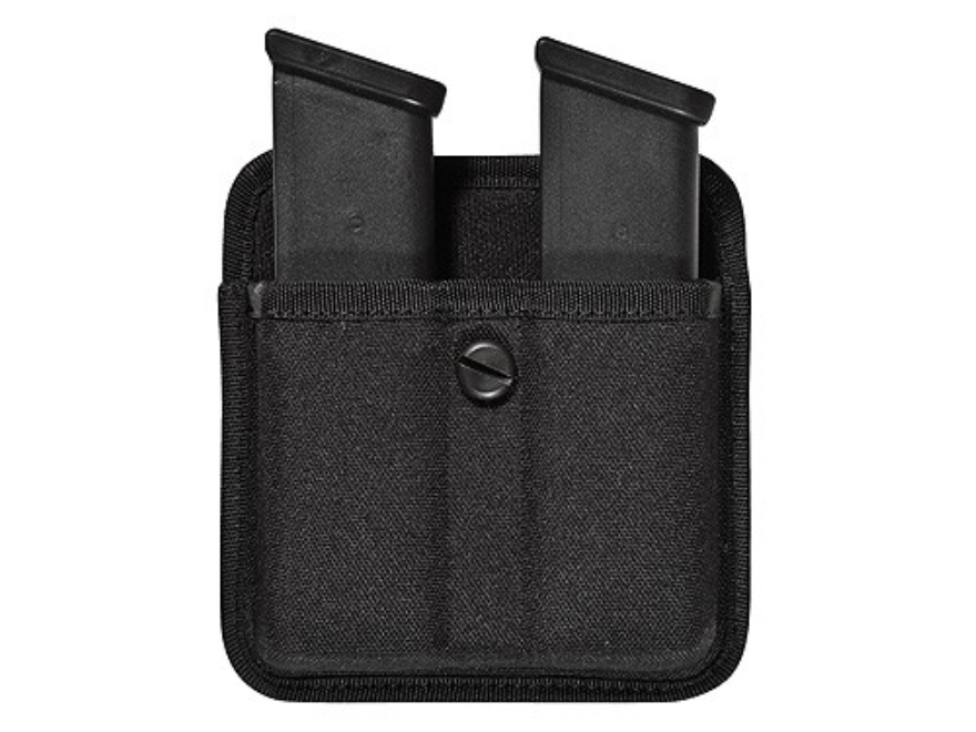 Bianchi 8020 Triple Threat 2 Magazine Pouch Double Stack 9mm Luger, 40 S&W Magazine Nyl...