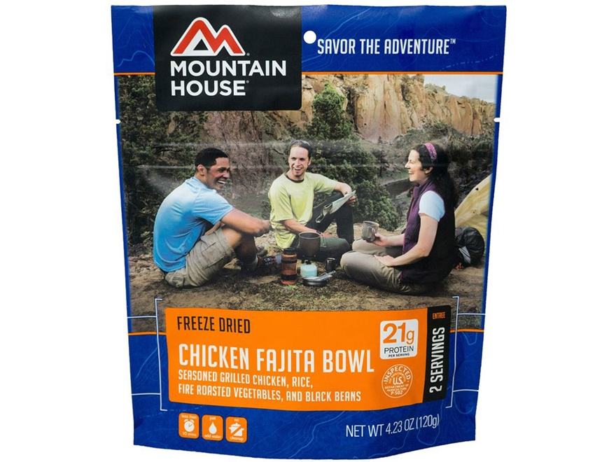 Mountain House Chicken Fajita Bowl Freeze Dried Food 4.23 oz