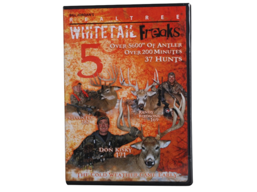 Realtree Whitetail Freaks 5 Video DVD