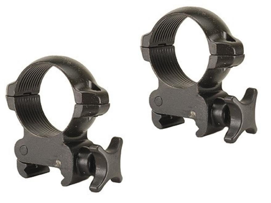 Millett 30mm Grabber Picatinny-Style Rings Matte Medium