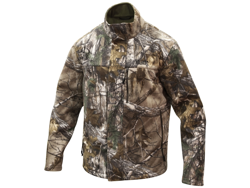 MidwayUSA Men's Timber Ridge Fleece Jacket