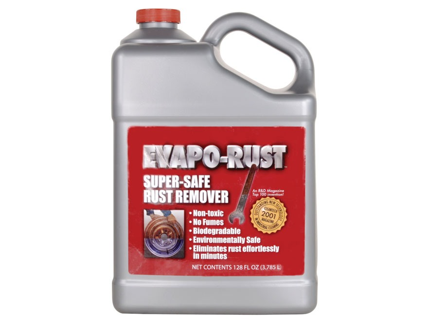 Evapo-Rust Blue Rust Remover 1 Gallon Liquid - MPN: 184160