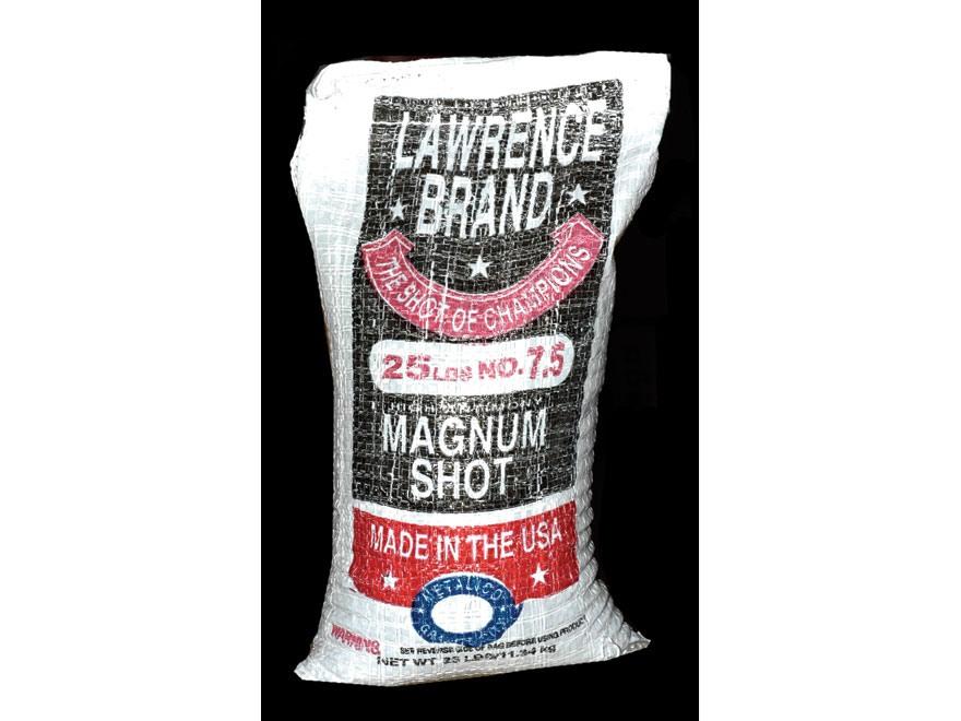 Lawrence Magnum Lead Shot #7-1/2 25 lb Bag