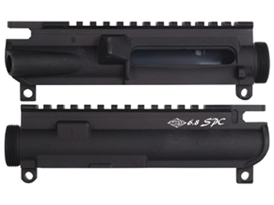 Yankee Hill Machine Upper Receiver Stripped AR-15 Matte With 6.8 SPC Marking