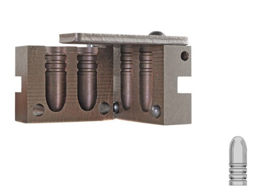 Saeco 2-Cavity Magnum Bullet Mold #881 45 Caliber (458 Diameter) 500 Grain Round Nose