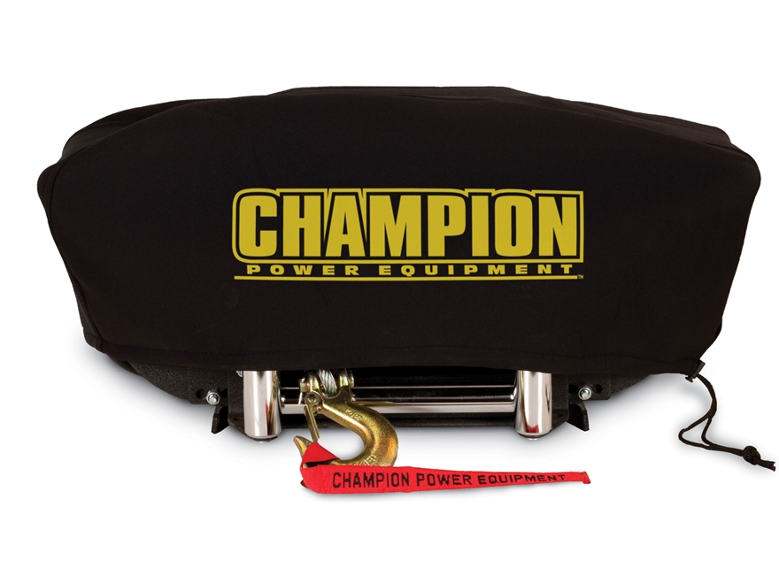 Champion Large Winch Cover for 8000 & 10000 lb Models with Speed Mount