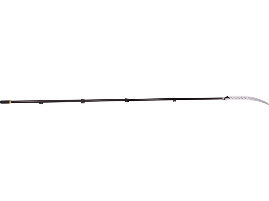 "Wicked Tree Gear Wicked Tough Pole Saw 15' Telescoping Saw 11"" High Carbon Steel Blade ..."