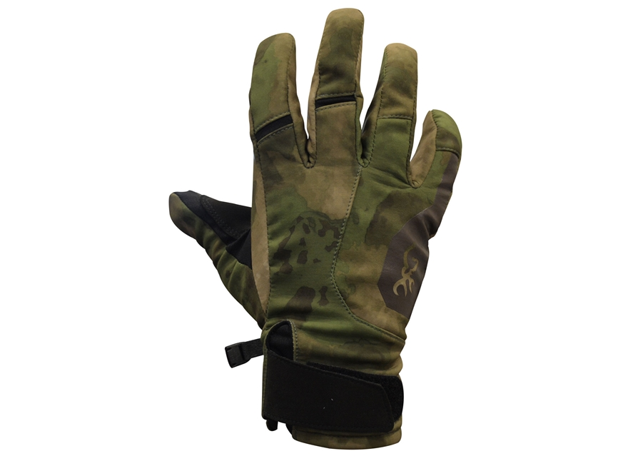 Browning Hell's Canyon Speed Hellfire Windproof Softshell Gloves Polyester